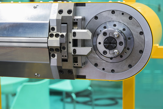 CNC wire bending machine ;