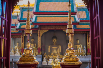 Beautiful temple located in the northern Thailand, showcasing the landmark and structure that are breathtaking and outstanding