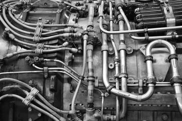 Aviation engineering. Engine. 02