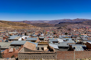 View over Potosi City Bolivia South America