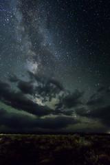 Die Galaxie über der Wüste Gobi - Mongolei