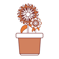 flower in a pot icon