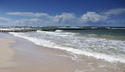 Bałtyk Plaża w Rowach