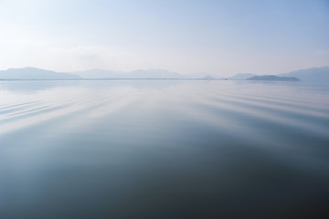 Calm water