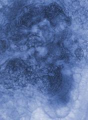 Texture sfondo acquerello blu con bolle