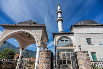 Sultan Mosque in Plav town, Montenegro