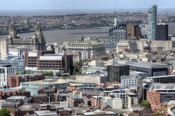 Liverpool City, UK.