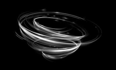 Glow swirl light effect. Circular lens flare. Abstract rotational lines. Power energy .element. Luminous sci-fi. Shining neon lights cosmic abstract frame. Magic round frame. Swirl trail effect