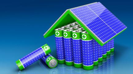 Solarenergie speichern