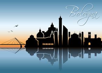 Bologna skyline - Italy