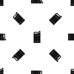 Jerrycan pattern seamless black