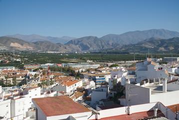 A view from Salobrena castle. Salobrena, Granada province, Andalusia, Spain