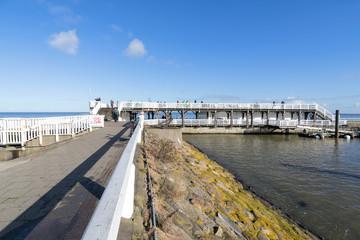Aussichtsplattform 'Alte Liebe' in Cuxhaven