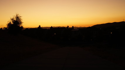 A random collection of sunsets