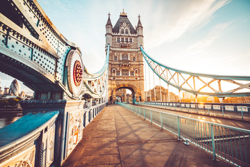 The Tower Bridge in London