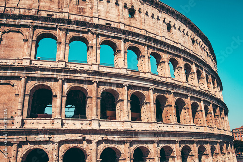 Fototapete The Roman Colosseum