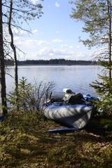 Russia, canoeing tour in Karelia
