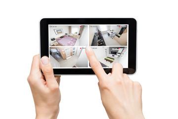 home camera cctv monitoring monitor system alarm smart house video