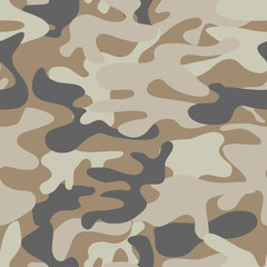 Colorful camouflage pattern background seamless vector illustration.