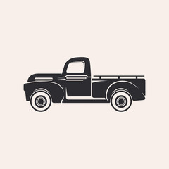 Illustration of a pickup truck