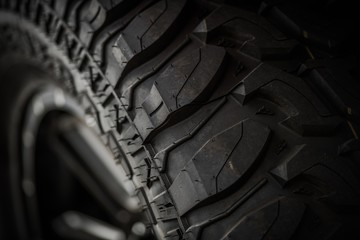 Off Road Tire Closeup