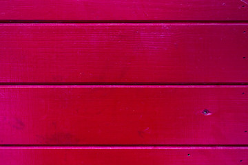 Wooden red wall background