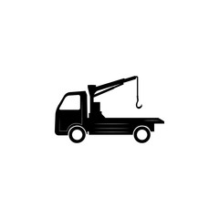 silhouette Tow Truck icon