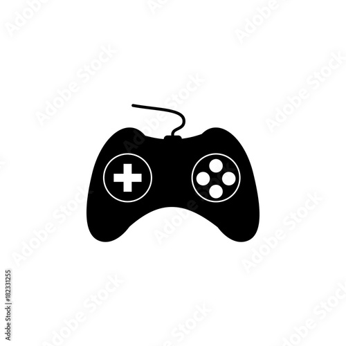 Game Controller Icon Human Weakness Addiction Element Icon