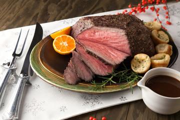 Roast Beef Rustic Style
