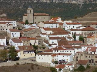 Huelamo, pueblo de Cuenca, en la comunidad autónoma de Castilla La Mancha, España