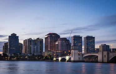 City of West Palm Beach skyline
