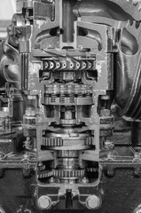 Engine machinery