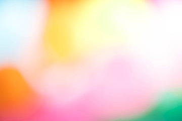 Abstract blur beautiful light colorful for wallpaper background.