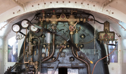 Vintage locomotive - Controling an old train