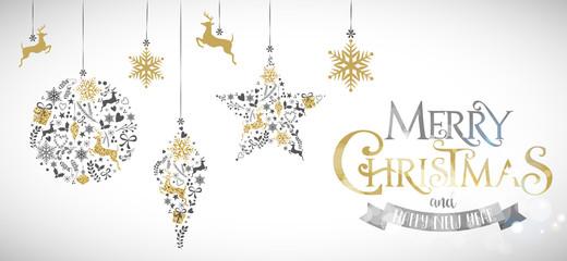 Decorazioni di Natale, Auguri