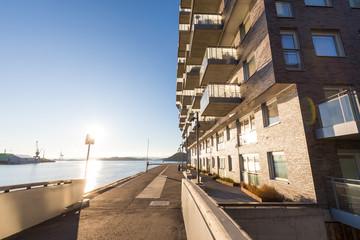 Wohngebiet Bjørvika, Sørengkaia, Oslo, Norwegen