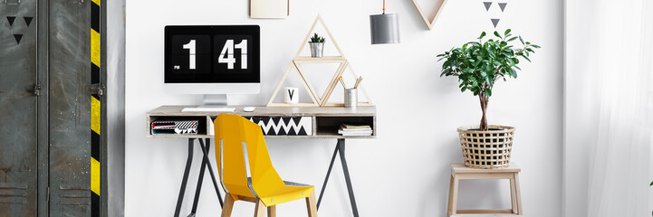 Simple office for student