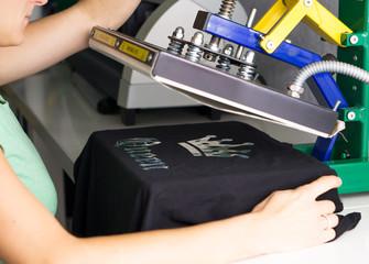 T-Shirt per Flexdruck bedrucken