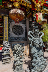 Chinese Kheng Hock Keong Temple Yangon (Rangoon) in Myanmar (Burma)