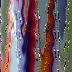 Abstract image, colorful graphics, tapestry