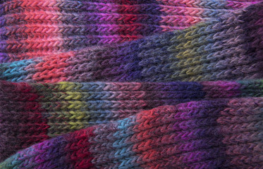 Texture of the knitted fabric.