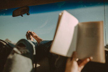 books & roadtrips