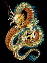龍のイラスト