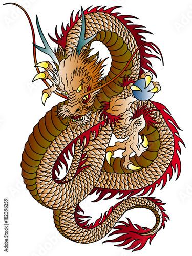 龍のイラストfotoliacom の ストック画像とロイヤリティフリーの