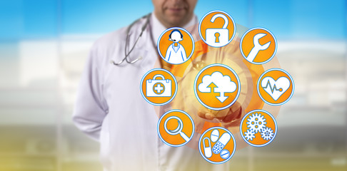 Independent Physician Accessing Managed Services