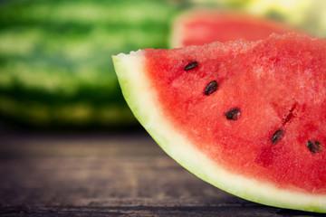 Watermelon close up.Sliced watermelon.