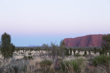 The Red Centre, Central Australia, after Sunrise