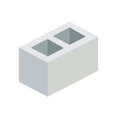 Construction - Cinder Block - (Flat)