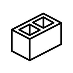 Construction - Cinder Block - (Outline)