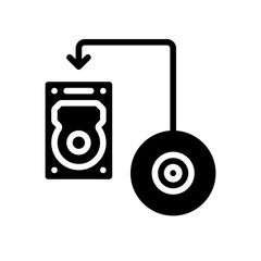 Data Recovery - Transfer Disk - (Solid)